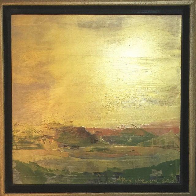 Image of Gold Skies Original Painting