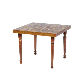Tramp-Art Style Coffee Table