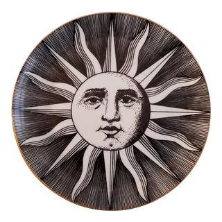 Vintage Piero Forasetti Small Soli E Lune (Sun & Moon) Plate.
