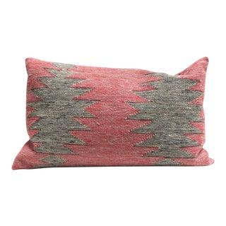 Group of Three Navajo Indian Weaving Bolster Pillows