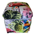Image of Palm Beach Regency Custom Upholstered Ottoman