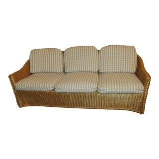McGuire Rattan Wicker Sofa