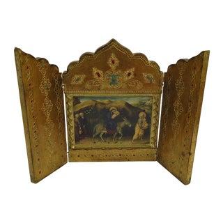 Florentine Triptych of Jesus, Mary, & Joseph