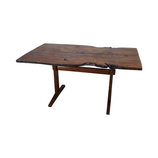 Bucks County Studio Vintage Walnut Free Form Table