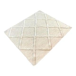 Cream Area Rug - 2′6″ × 2′11″