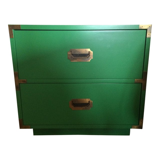 Dixie Campaign Nightstands - Pair of Two - Image 1 of 8