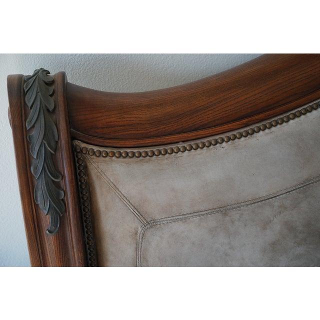 Henredon California King Sleigh Bed Frame - Image 7 of 10