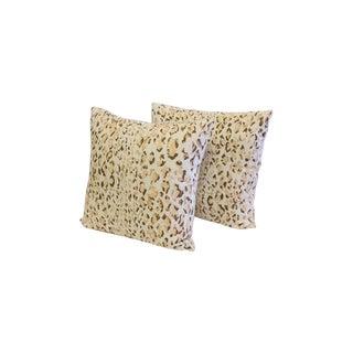 Handmade Creme Sabu Linen Pillow