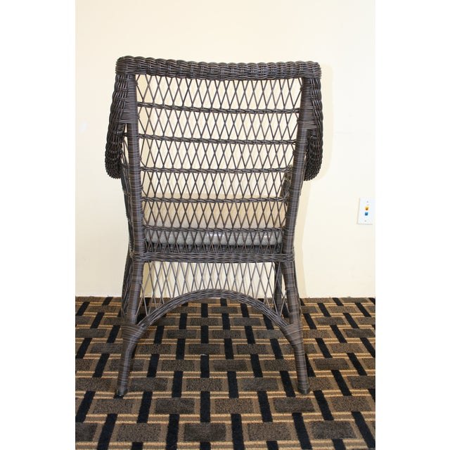 McGuire Water Mill Arm Chair - Image 5 of 6