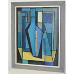 Image of Vintage Abstract Painting by Holden