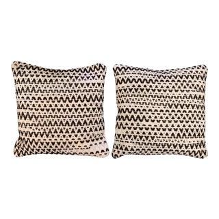 Loloi Woven Wool Pillows - A Pair