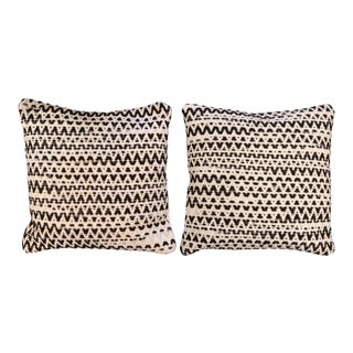 Loloi Woven Wool Pillows - A Pair
