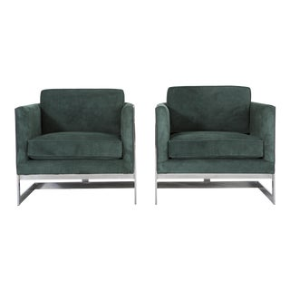 Set of Milo Baughman Chairs