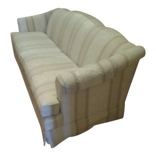 Cream Patterned Thomasville Sofa