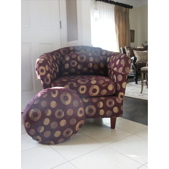 Contemporary Club Chair - Image 6 of 10
