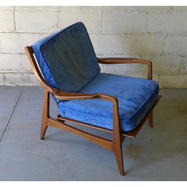 Norwegian Mid Century Modern Lounge Chair - Image 4 of 6