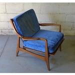 Image of Norwegian Mid Century Modern Lounge Chair