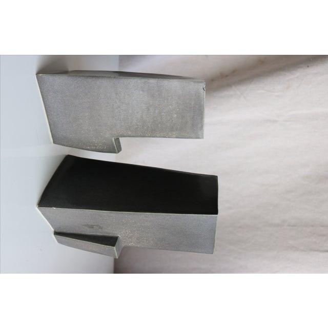 Architectural Ceramic Vases - A Pair - Image 7 of 10