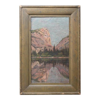 Oil Painting of Yosemite