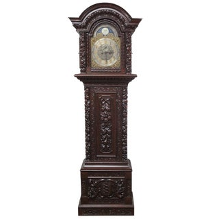 Longcase Kemp Brothers Grandfather Clock