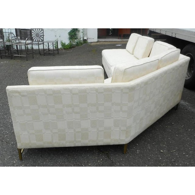 Impressive Two-Piece Mid-Century Modern Sofa by Paul McCobb for Directional - Image 5 of 11