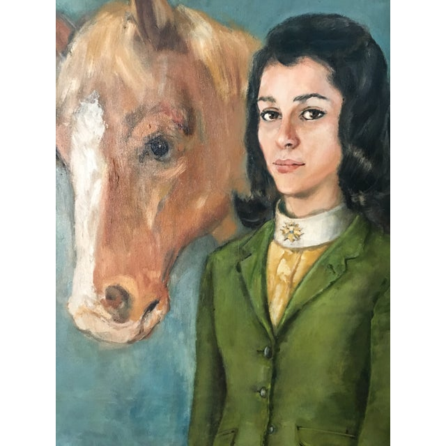 Equestrian Oil Painting - Image 3 of 6