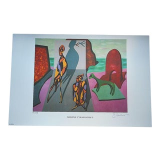 George Andreas Signed Ltd. Ed. Lithograph