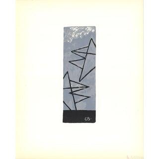 Georges Braque, Trois Oiseaux, 1959 Lithograph