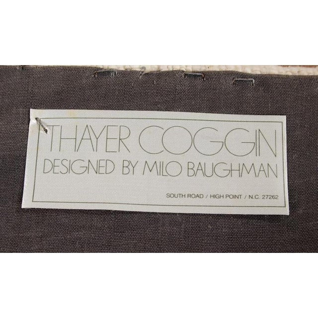 Signed Milo Baughman Thayer Coggin Ottomans - Pair - Image 4 of 7