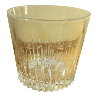 Princess House Heritage Crystal Etched Ice Bucket