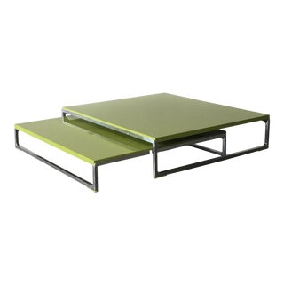 B&B Italia Solo Coffee Table by Antonio Citterio - A Pair