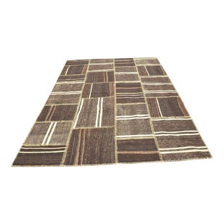 Nomadic Handwoven Floor Patchwork Rug - 6′9″ × 9′10″
