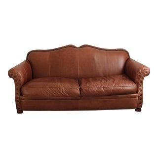 Lillian August Leather Sofa