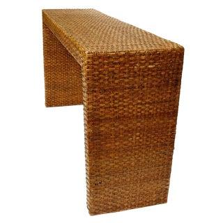 Rattan Sofa Table