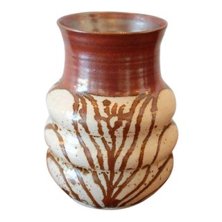 Organic Pattern Studio Pottery Ceramic Vessel