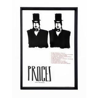 The Trial 1962 Original Movie Poster