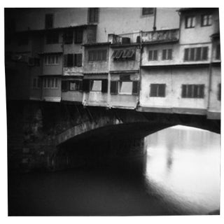 """Ponte Vecchio"" Black & White Photograph"