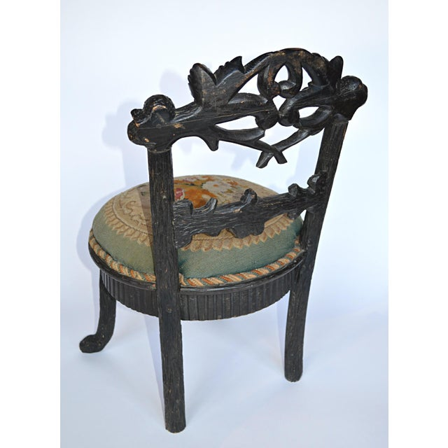 19th Century Black Forest Child's Chair - Image 5 of 10