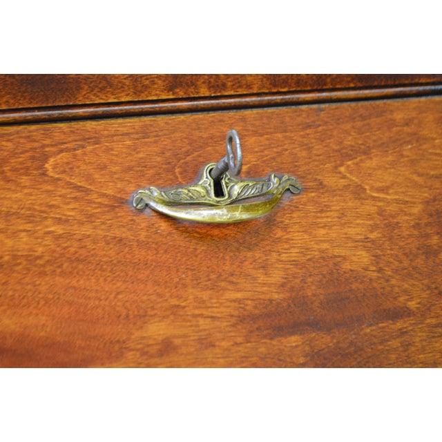 Danner Antique Mission Style Mahogany Slant Lid Writing Desk - Image 7 of 10