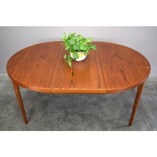 Heltborg Møbler Danish Teak Expandable Dining Table - Image 6 of 11