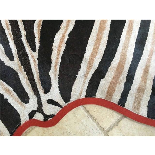 Zebra Hyde Rug - 5′10″ × 7′10″ - Image 3 of 3