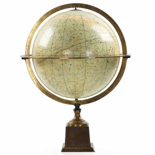 Vintage French Celestial Globe by Charles Dien