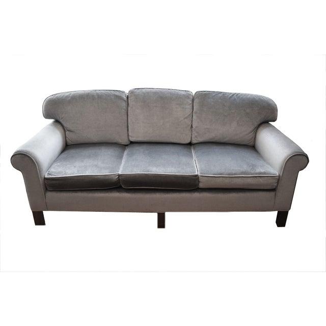 Matching Gray Sofa Loveseat A Pair Chairish