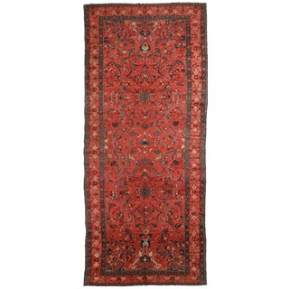Persian Bijar Rug - 7′ × 17′1″