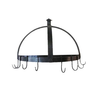 Hand-Forged Iron Pot Rack