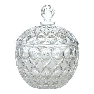 Crystal Punch Lidded Bowl