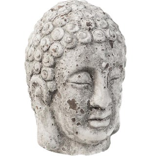 Cement Buddha Head