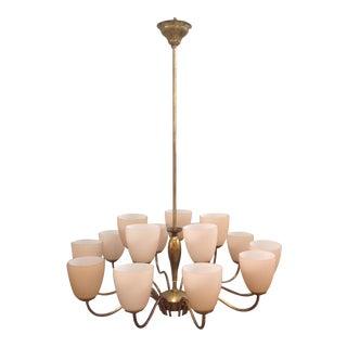 Italian 15 Light Chandelier
