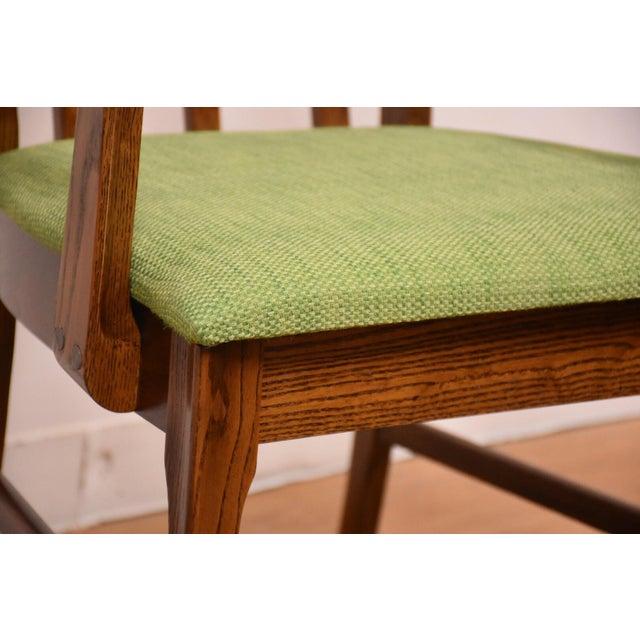 Broyhill Brasilia Walnut Dining Chairs - Set of 8 - Image 6 of 11