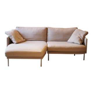 Design Within Reach Lama Tweed Camber Sectional